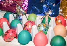 Αυγά Πάσχας: Θάνατος και διακόσμηση Στοκ Εικόνα