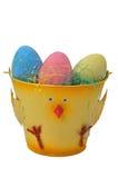 αυγά Πάσχας κάδων Στοκ φωτογραφία με δικαίωμα ελεύθερης χρήσης
