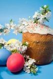 αυγά Πάσχας κέικ Στοκ Φωτογραφίες
