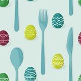 Αυγά Πάσχας και μαχαιροπήρουνα στοκ φωτογραφία