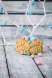 Αυγά Πάσχας και Bunny Στοκ Εικόνες