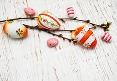 αυγά Πάσχας κλάδων Στοκ φωτογραφία με δικαίωμα ελεύθερης χρήσης