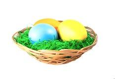 αυγά Πάσχας που απομονών&omicro Στοκ Φωτογραφία
