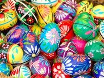 αυγά Πάσχας που χρωματίζο Στοκ Εικόνα