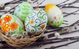 Αυγά Πάσχας. Στοκ φωτογραφίες με δικαίωμα ελεύθερης χρήσης
