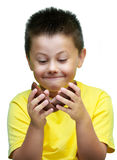 Αυγά Πάσχας σοκολάτας στοκ φωτογραφία με δικαίωμα ελεύθερης χρήσης