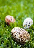 αυγά Πάσχας τρία στοκ εικόνες