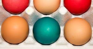 Αυγά Πάσχας: Χρώματα Στοκ φωτογραφία με δικαίωμα ελεύθερης χρήσης