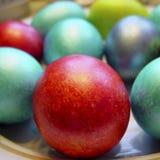 αυγά Πάσχας χρώματος Μέρος 01 Στοκ Εικόνες