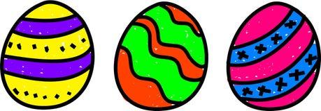 αυγά Πάσχας ελεύθερη απεικόνιση δικαιώματος