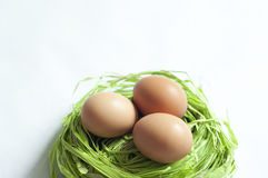 3 αυγά Πάσχας Στοκ Εικόνα