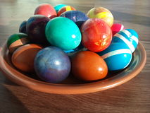 Αυγά Πάσχας Στοκ Εικόνες
