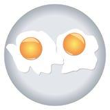 αυγά που ανακατώνονται Στοκ Φωτογραφίες