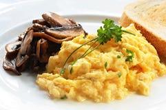 αυγά που ανακατώνονται Στοκ εικόνες με δικαίωμα ελεύθερης χρήσης