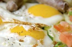 αυγά που τηγανίζονται Στοκ εικόνες με δικαίωμα ελεύθερης χρήσης