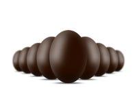 αυγά σοκολάτας Στοκ φωτογραφίες με δικαίωμα ελεύθερης χρήσης