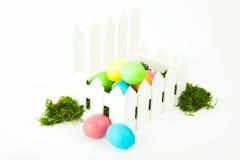 Αυγά στη φωλιά για Πάσχα Στοκ Φωτογραφία