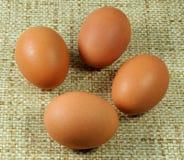 αυγά τέσσερα στοκ φωτογραφίες
