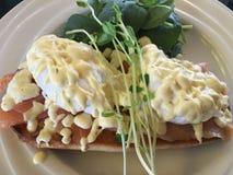 αυγά του Benedict Στοκ φωτογραφία με δικαίωμα ελεύθερης χρήσης