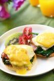 αυγά του Benedict Στοκ φωτογραφίες με δικαίωμα ελεύθερης χρήσης