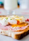 αυγά του Benedict Στοκ Εικόνες