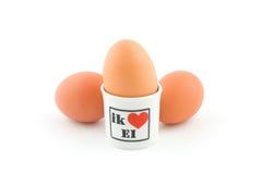 αυγά τρία Στοκ εικόνα με δικαίωμα ελεύθερης χρήσης