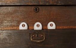 αυγά τρία Στοκ Φωτογραφίες