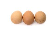 αυγά τρία Στοκ φωτογραφίες με δικαίωμα ελεύθερης χρήσης