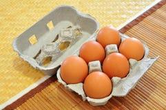 αυγά φρέσκα Στοκ Φωτογραφία