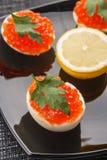 Αυγά χαβιαριών Στοκ φωτογραφίες με δικαίωμα ελεύθερης χρήσης