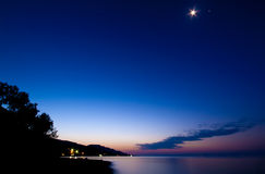 αυγή ήρεμη Στοκ Φωτογραφία