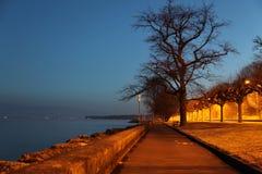 αυγή Γενεύη στοκ φωτογραφία