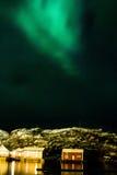 Αυγή και σπίτι Στοκ φωτογραφίες με δικαίωμα ελεύθερης χρήσης