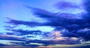 αυγή σύννεφων Στοκ Φωτογραφίες