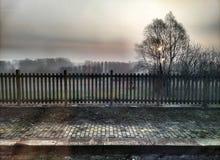 Αυγή τοπίων Στοκ φωτογραφίες με δικαίωμα ελεύθερης χρήσης
