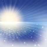 αυγή φανταστική Στοκ Εικόνες