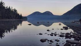 αυγή φυσαλίδων acadia Στοκ Εικόνες