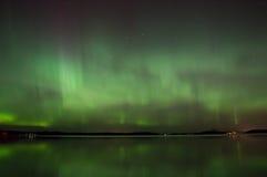 Αυγή Borealis Στοκ Εικόνα
