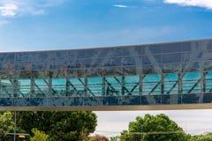 19 Αυγούστου 2015 - Ντάλλας, Τέξας, ΗΠΑ Η νέα προσθήκη σε Parkl Στοκ φωτογραφίες με δικαίωμα ελεύθερης χρήσης