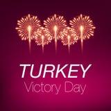 30 Αυγούστου zafer νίκη bayrami ημέρα Τουρκία Στοκ Εικόνα