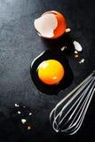 αυγό ακατέργαστο Στοκ εικόνα με δικαίωμα ελεύθερης χρήσης