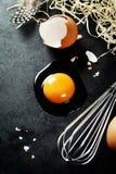 αυγό ακατέργαστο Στοκ Εικόνες