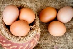 αυγό ακατέργαστο Στοκ Φωτογραφίες