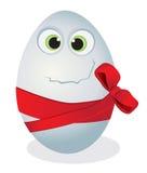 αυγό αστείο Στοκ Εικόνες