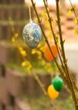 αυγό γήινου Πάσχας Στοκ Εικόνα
