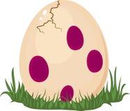 Αυγό δεινοσαύρου ελεύθερη απεικόνιση δικαιώματος