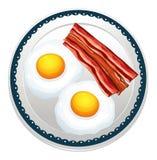 Αυγό και becon Στοκ φωτογραφία με δικαίωμα ελεύθερης χρήσης