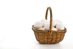 αυγό καλαθιών Στοκ Εικόνες