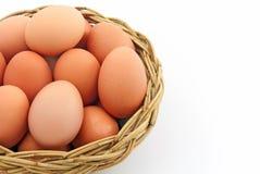 αυγό καλαθιών Στοκ εικόνα με δικαίωμα ελεύθερης χρήσης