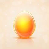 Αυγό Πάσχας γυαλιού Στοκ Εικόνες